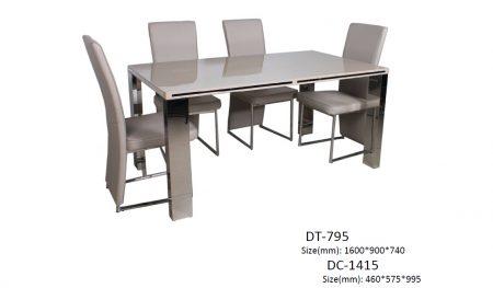 Dt-795 dining set