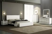 Navi bedding suite glossy white