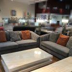 lindsey 655 3+2 fabric lounge