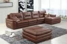 Roma 477 Aniline Italian leather lounge -3