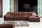Roma 477 Aniline Italian leather lounge -4