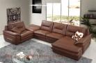Roma 477 Aniline Italian leather lounge