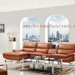 cloud L-580 L shape italian leather lounge