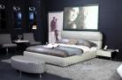 Carina italian leather bed