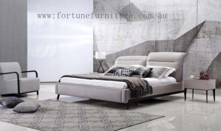 Bailey Italian Leather Bed