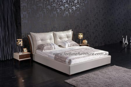 Yasmine Leather Bed