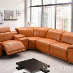 Adele italian leather lounge