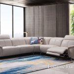 Rosa stylish leather lounge