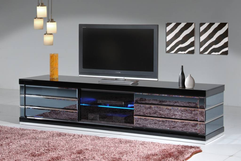 Cf A Mirror Tv Unit Fortune Furniture