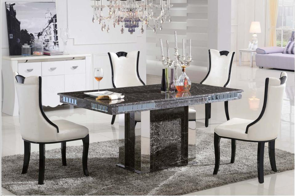 C3035 Luxury Marble Dining Table Fortune Furniture