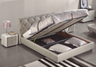 casa bed with gas lift storage