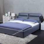 kandi leather bed
