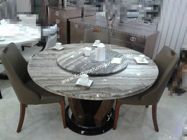 Elegance natural marble round