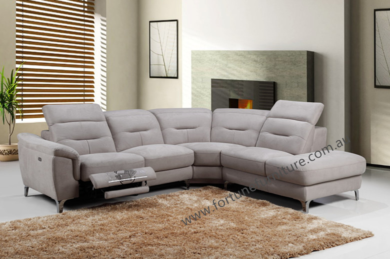 Taylor 9241 Italian Corner Lounge With Electric Recliner