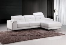 Blanche9287 itailian leather lounge