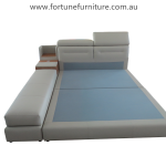 kate B82 italian leather bed