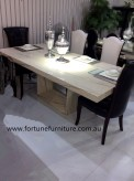 Ranna 3034 marble dining table