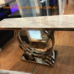 K06 concole table (rosegold finish)