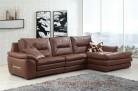 Roma L-477 DeluXe Aniline Italian leather  lounge
