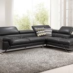 Alicia 9345 l shape italian leather lounge