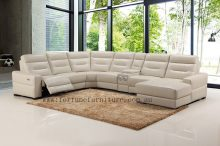 Cronulla 9355 u shape italian leather lounge