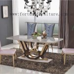 Kiama marble dining table