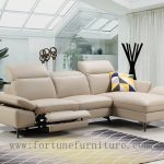 Ricco L shape italian leather lounge