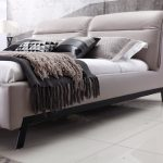 Bailey Italian Leather Bed