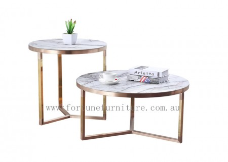 Michell M10AB coffee table +end table