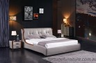 Adele Leather Bed