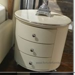 Anna 3 drawer bedside table