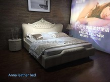 Anna Leather bed