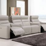 Claudia italian leather home theatre