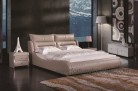 Jeanne leather bed