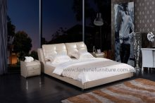 Judy leather bed