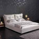 Yasmine Leather Bed