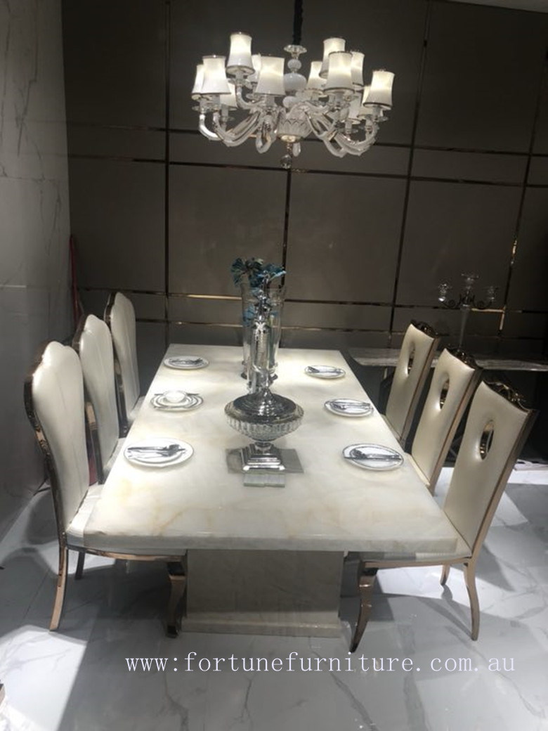 dale Natural Onyx table