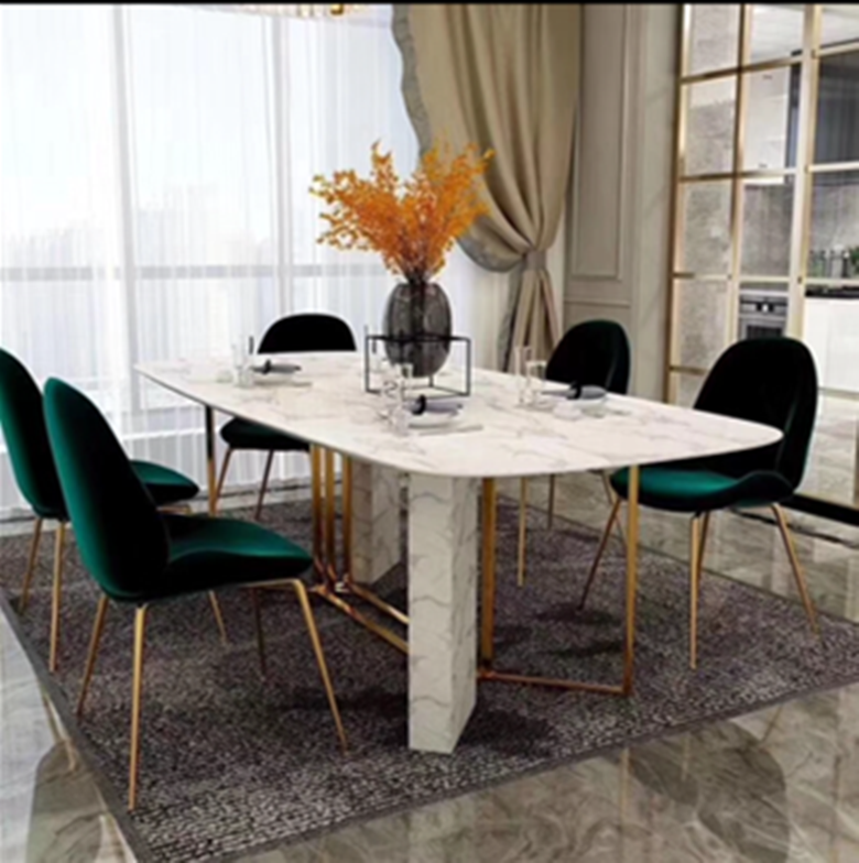 Pauline Marble Dining Table Fortune Furniture