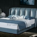 Belen Leather Bed