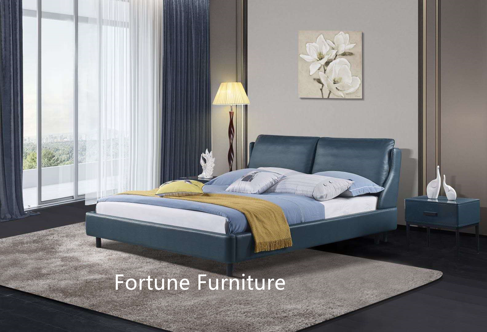 6608 leather bed_副本