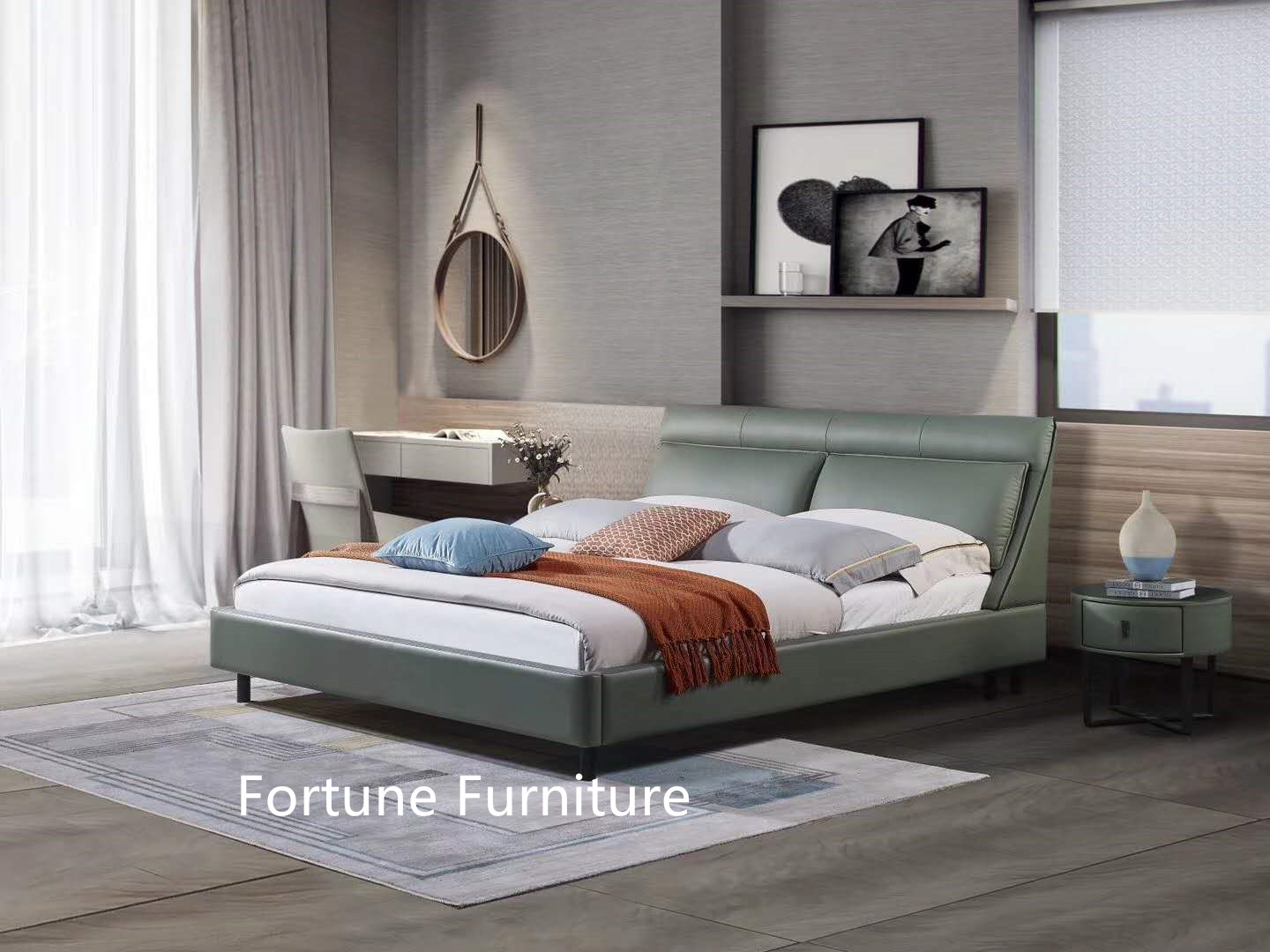6628 leather bed_副本